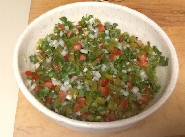 Cactus (napales) Salsa Recipe