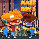 Run 3 Mask Boys Free Games icon