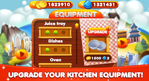 Cooking World – Restaurant Games & Chef Food Fever 6