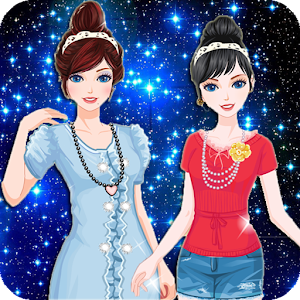 Twin Princess dress up make up for PC and MAC