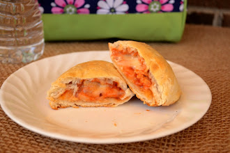 Photo: I also used the same ingredients to whip up Kids' Mini Pizza Calzones.