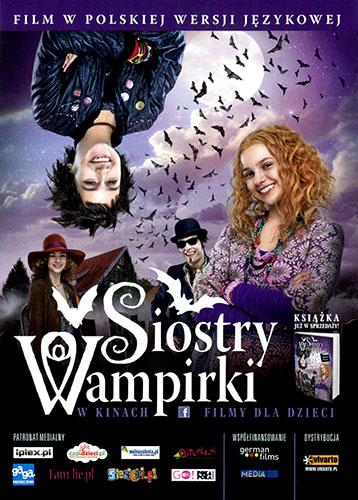 Przód ulotki filmu 'Siostry Wampirki'