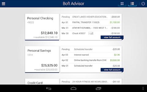 BofI Advisor Mobile App screenshot 5