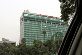 Photo: Piti napata heti aluksi kuva hotellista, jossa asuimme edellisen kerran Meksikossa käydessämme, kun sattui olemaan lähellä Galeria Plaza -hotellia