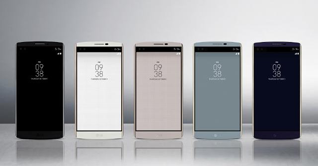 Thiết kế LG V10 F600k