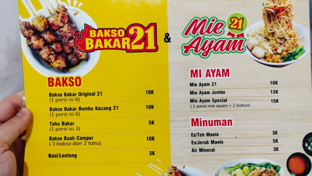 Bakso Bakar Mie Ayam 21 Restoran Bakso