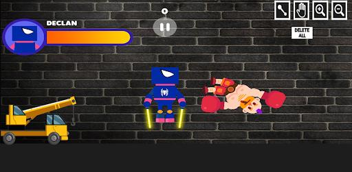 Superheroes Playground: Human Ragdoll screenshot 1