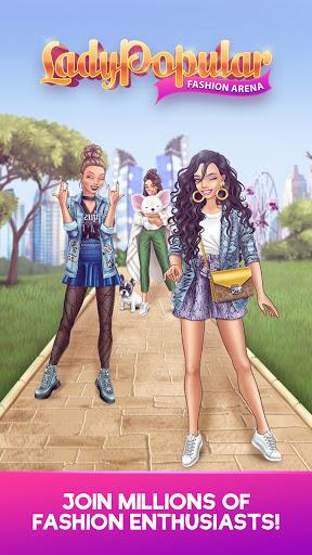 Lady Popular: Fashion Arena 94.6 screenshots 9