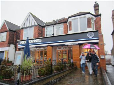 Pizzaexpress On Stafford Road Restaurant Italian In