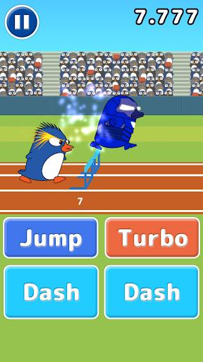 Athlete Penguin - Hurdle -