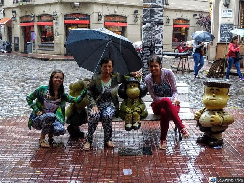 Buenos Aires - Estátua da Mafalda