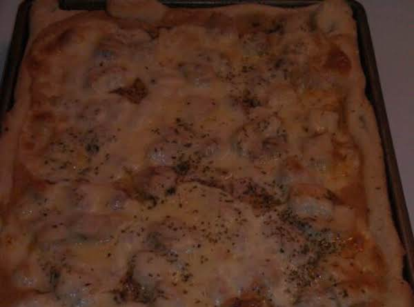 Chicken Alfredo Pizza Recipe