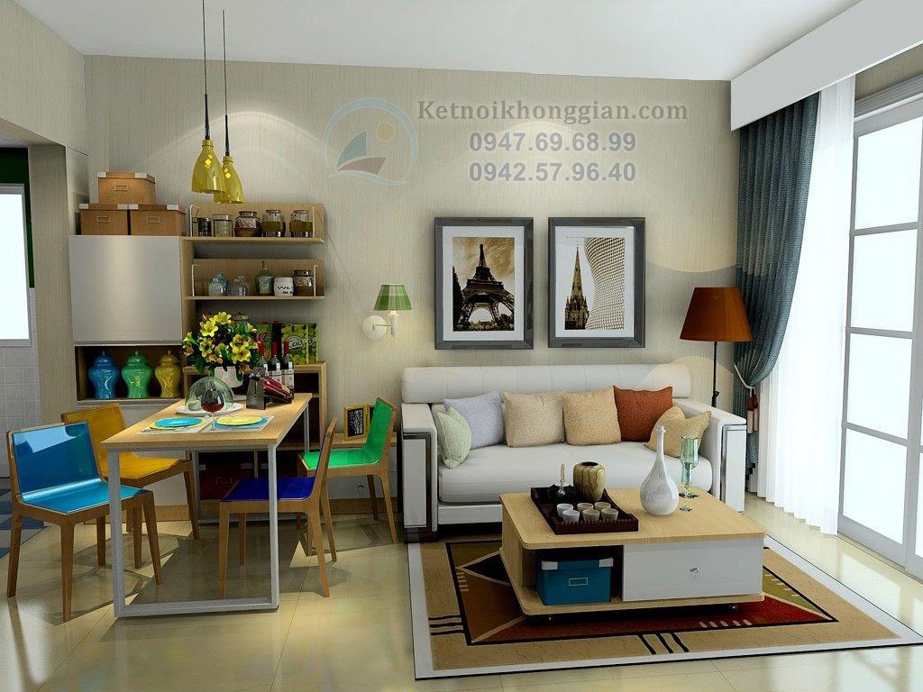 thiết kế chung cư đẹp 70m2
