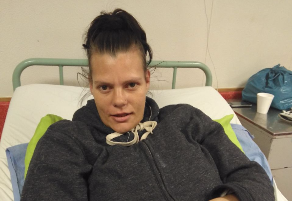 Angela Van Der Reever was admitted to Livingstone Hospital on June 28.