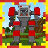 Tải Game Adventure Robot Addon MCPE mod