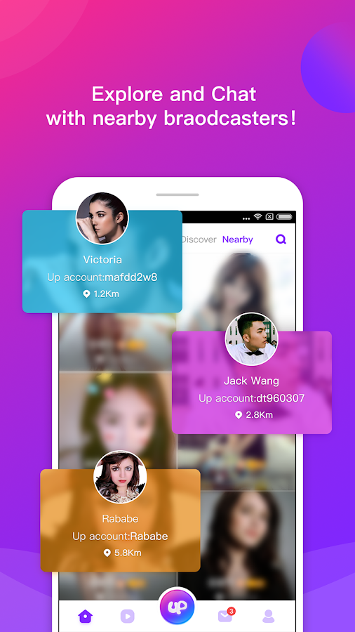 Uplive - Live Video Streaming App- screenshot