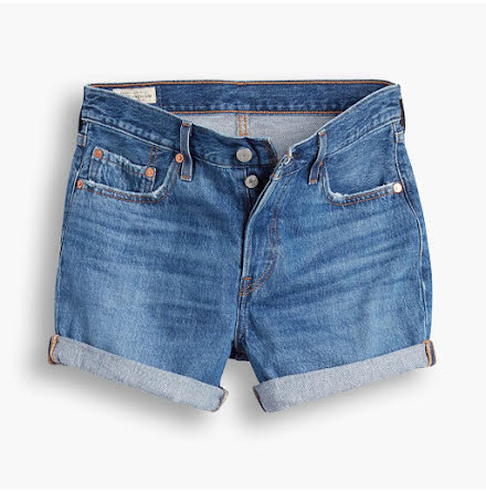 Levi's 501 Short long sansome drifter