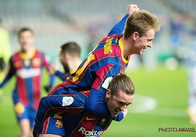 Frenkie de Jong opnieuw uitblinker bij Barcelona dat scheve situatie rechtzet en uitschakeling voorkomt in Copa del Rey