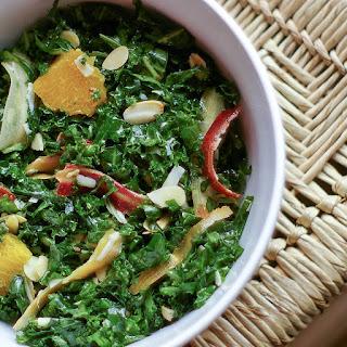 Raw Kale Salad.