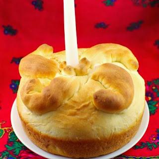 Bread Maker Paska (Ukrainian Easter Bread).