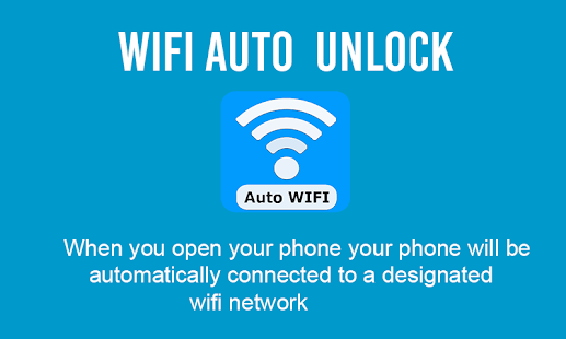 WiFi Auto Unlock and wifi connect Screenshot