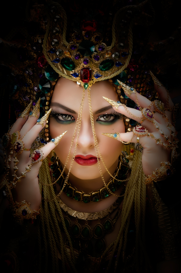 The Opera Queen by Gunawan Kadengkang - People Portraits of Women ( #senseofcolours #soc )