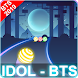 BTS Dancing Road: BTS KPOP Colour Ball Dancing Run