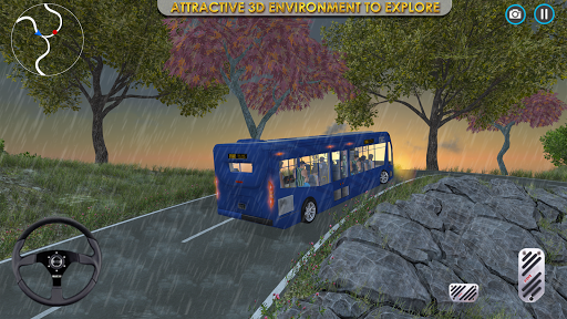 Coach Bus Simulator Parking  screenshots 1
