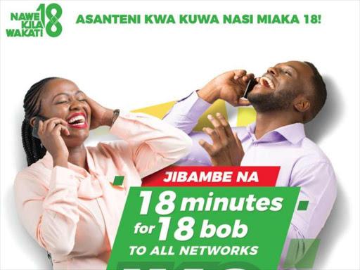 Safaricom Unveils Sh1 Call Campaign To Mark 18th Birthday