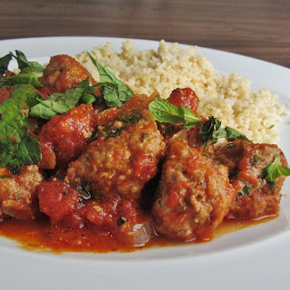 Mint and Lamb Meatballs.