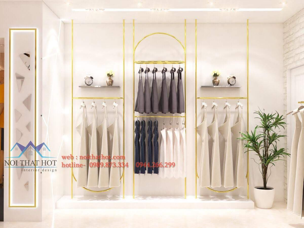 thiết kế shop thời trang sm 6