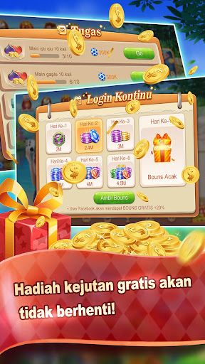 Gaple Lokal Online - Free 1.0.3 gameplay | by HackJr.Pw 12