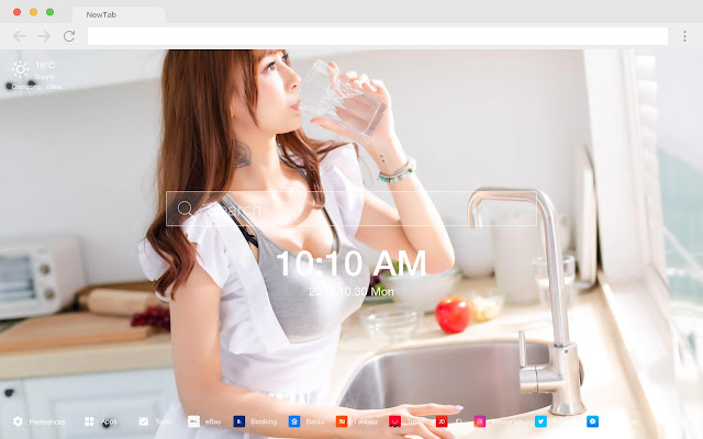 Pure Beauty New Tabs HD Themes