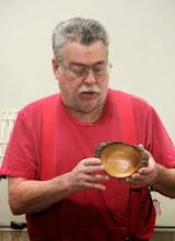 Photo: Elliot Schantz made this natural-edge maple bowl...