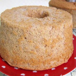 Black Glutinous Chiffon Cake