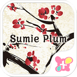 Japanese Style-Sumie Plum