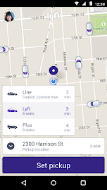 Lyft - Taxi & Bus Alternative Screenshot 1