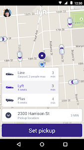 Lyft - Taxi & Bus Alternative v3.33.1.32807