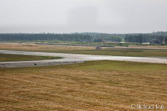 Photo: Etter landing på Aarhus Lufthavn.