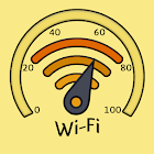 WiFi signal strength meter icon