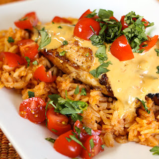 Cheesy Grilled Mexican Chicken Recipe