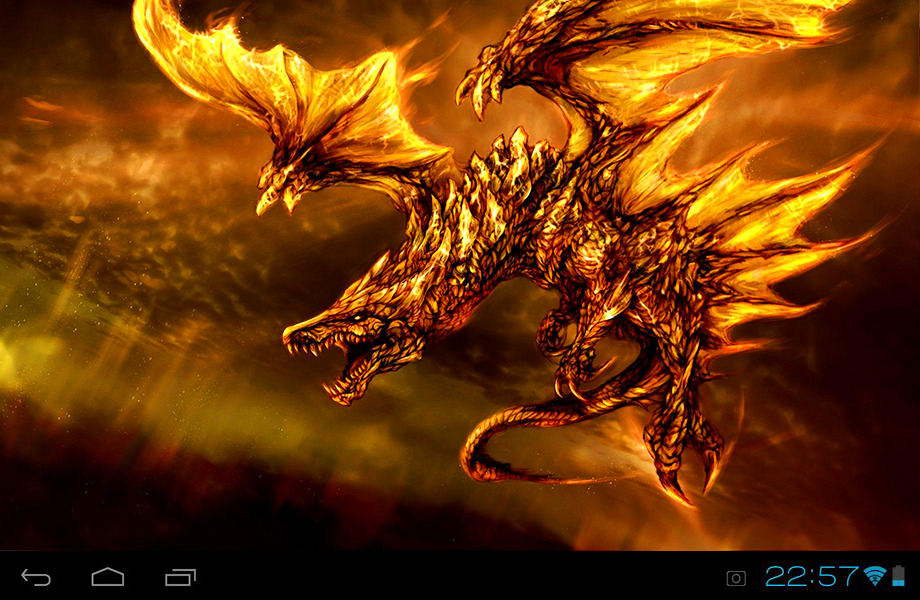 dragons live wallpaper android apps on google play
