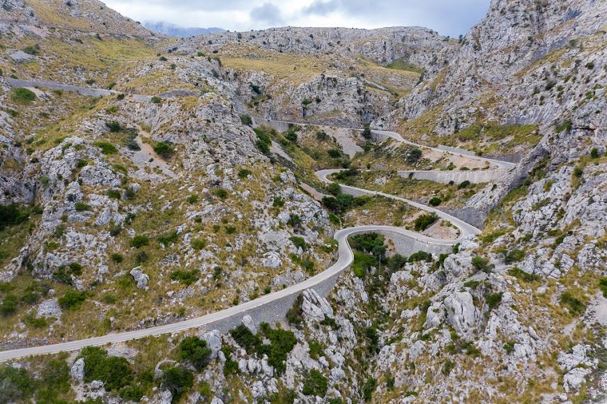 Carretera de Sa Calobra, la más famosa de Mallorca. FOTO DE FLICKR.