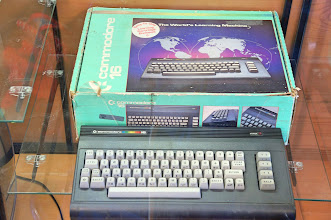Photo: Remember the Commodore 64? This is its earlier cousin the Commodore 16.