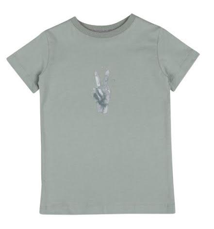 One We Like T-shirt peace green