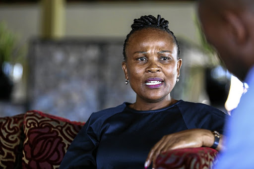 Public protector Busisiwe Mkhwebane was reprimanded by Finance Minister Nhlanhla Nene.