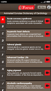 Cardiology-Animated Dictionary- screenshot thumbnail