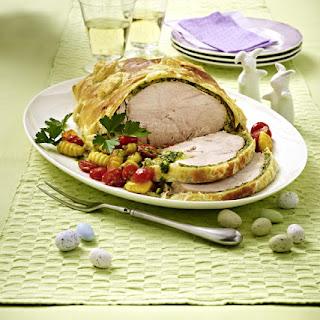Roast Turkey Wellington
