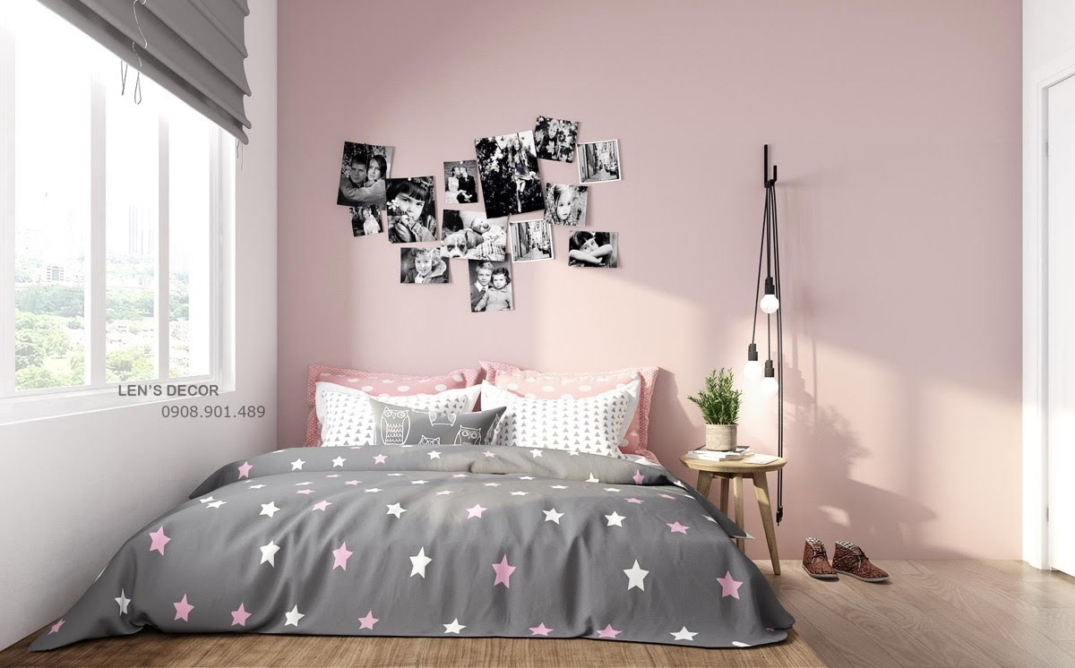 Bilik Tidur Warna Pastel Desainrumahid Com