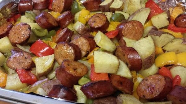 Favorite Sausage And Potatoes Recipe
